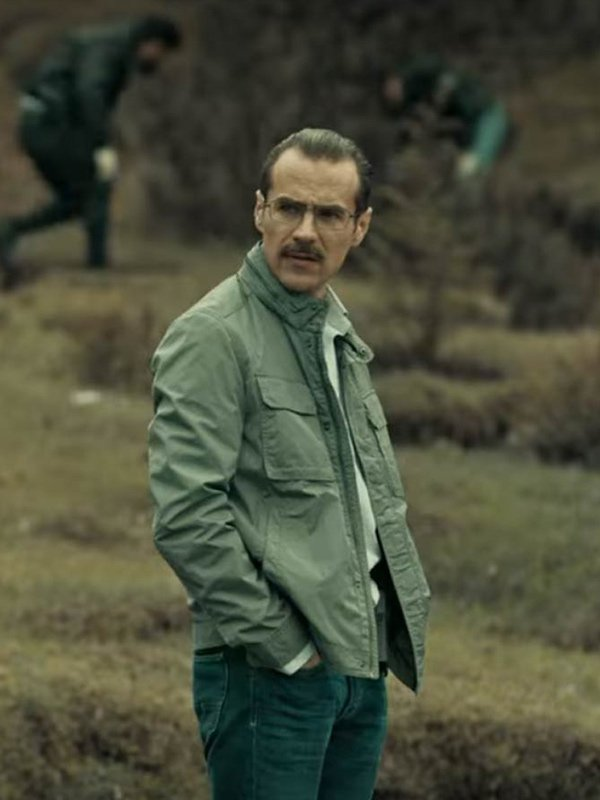Erik Hayser Dark Desire Green Cotton Jacket