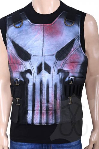 Frank Castle The Punisher War Zone Vest