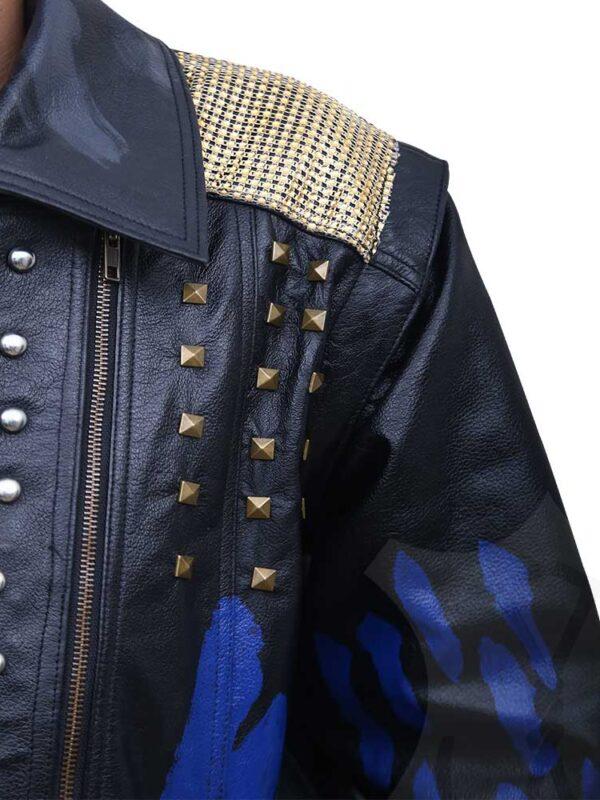 Hades Descendants 3 Leather Coat