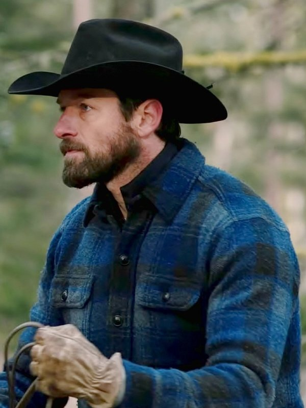 Ian Bohan Yellowstone Ryan Checked Jacket