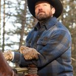 Ian Bohen Yellowstone Blue Falalen Jacket