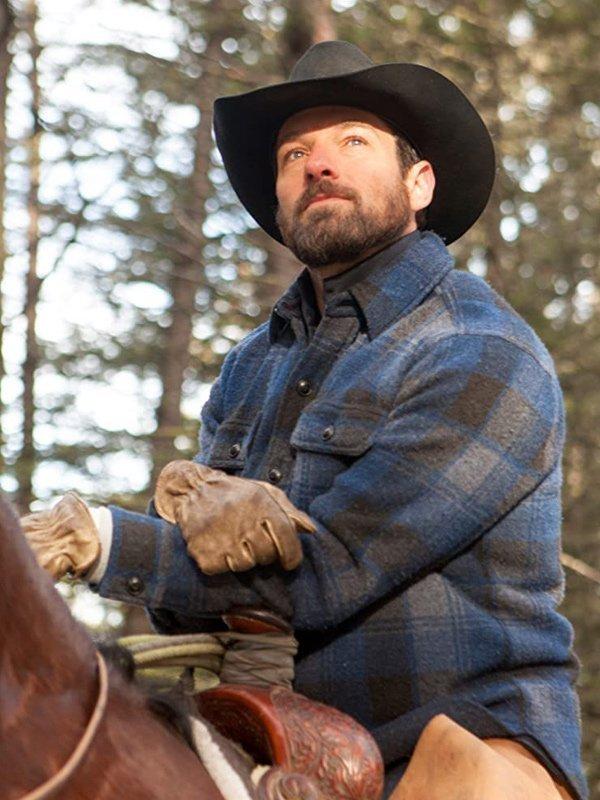 Ian Bohen Yellowstone Blue Falalen Jacket