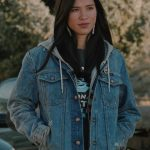 Kelsey Asbille Yellowstone Blue Denim Jacket