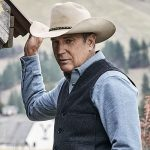 Kevin Costner Yellowstone Grey Cotton Vest