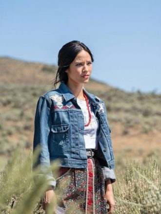 Monica Dutton Yellowstone Blue Denim Jacket