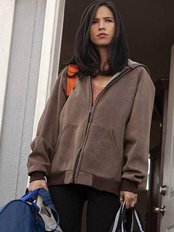 Monica Dutton Yellowstone Brown Hoodie
