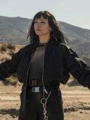Najwa Nimri Vis a Vis El Oasis Black Bomber Jacket