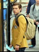 Peter Parker Spiderman Homecoming Yellow Coat
