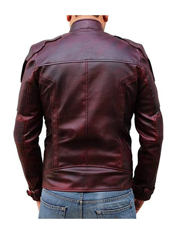 Peter Quill Guardians of the Galaxy 2 Star-Lord Leather Jacket