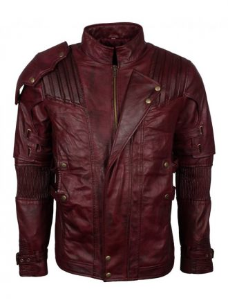 Peter Quill Guardians of the Galaxy 2 Star Lord Leather Jacket