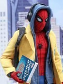Spiderman Homecoming Tom Holland Yellow Wool Coat