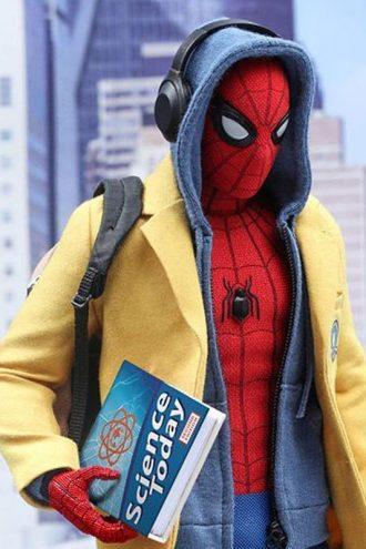 Spiderman Homecoming Tom Holland Yellow Wool Coat