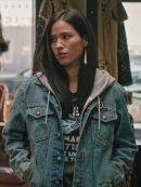 TV Series Yellowstone Monica Dutton Denim Jacket