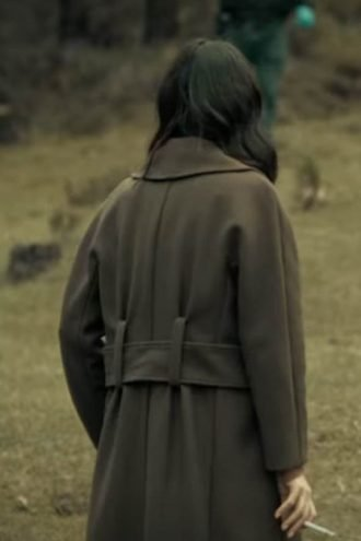 Tv Series Dark Desire Maite Perroni Wool Coat