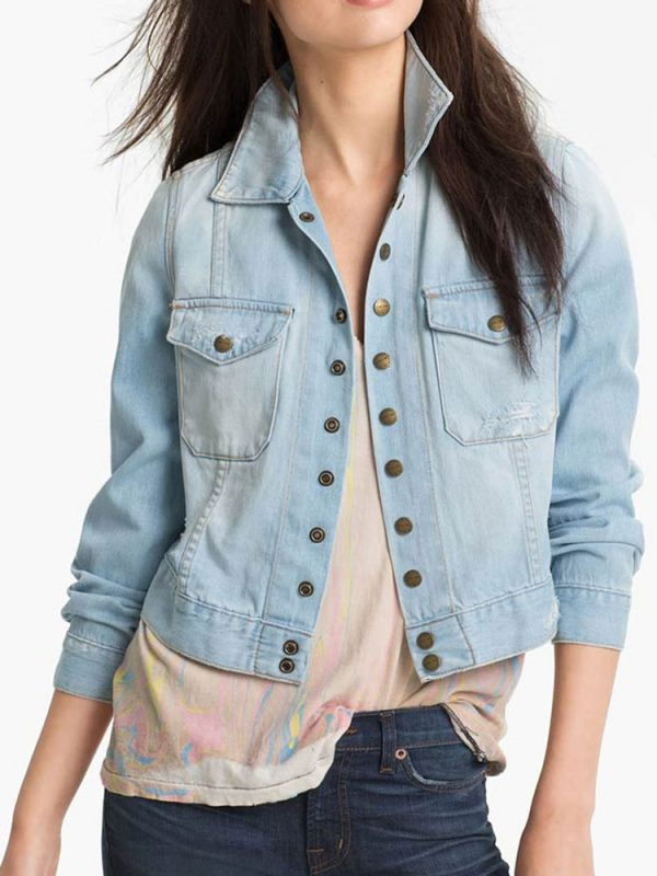 Tv Series Yellowstone Kelsey Asbille Denim Jacket