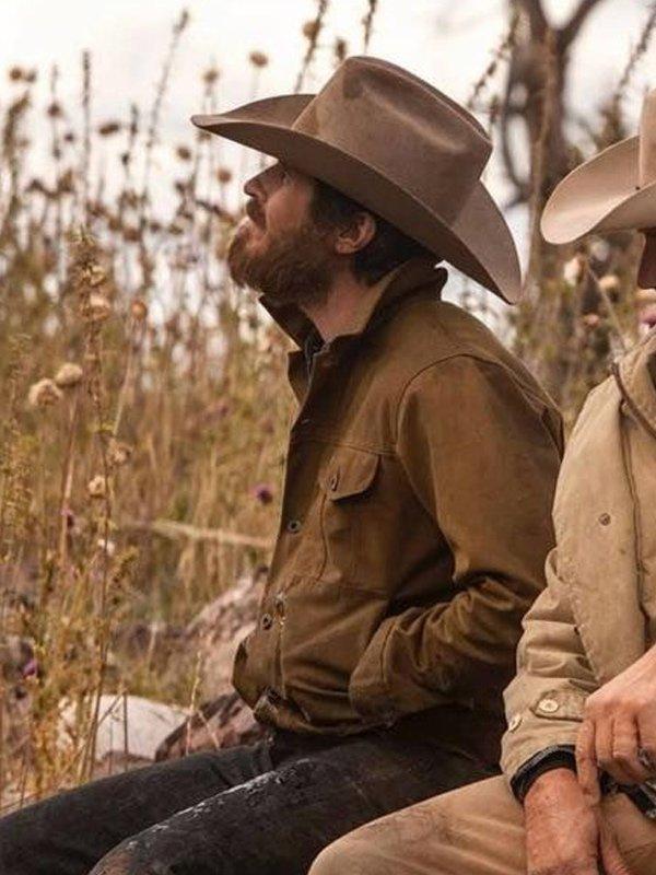 Tv Series Yellowstone Lee Dutton Cotton Jacket