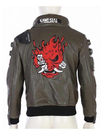 Video Game Cyberpunk 2077 Leather Jacket