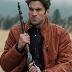 Wes Bentley Yellowstone Brown Parachute Jacket