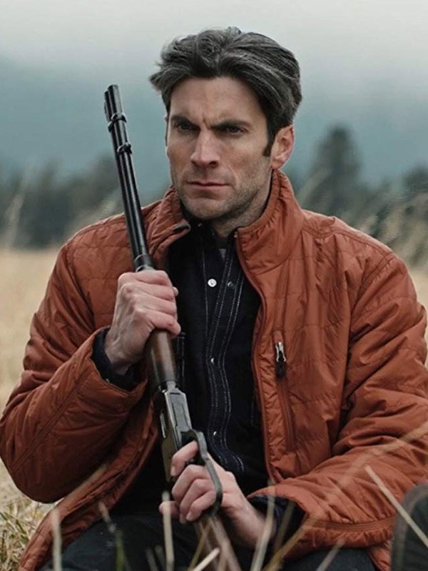 Wes Bentley Yellowstone Brown Parachute Jacket