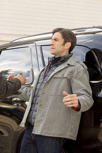 Wes Bentley Yellowstone Grey Cotton Jacket