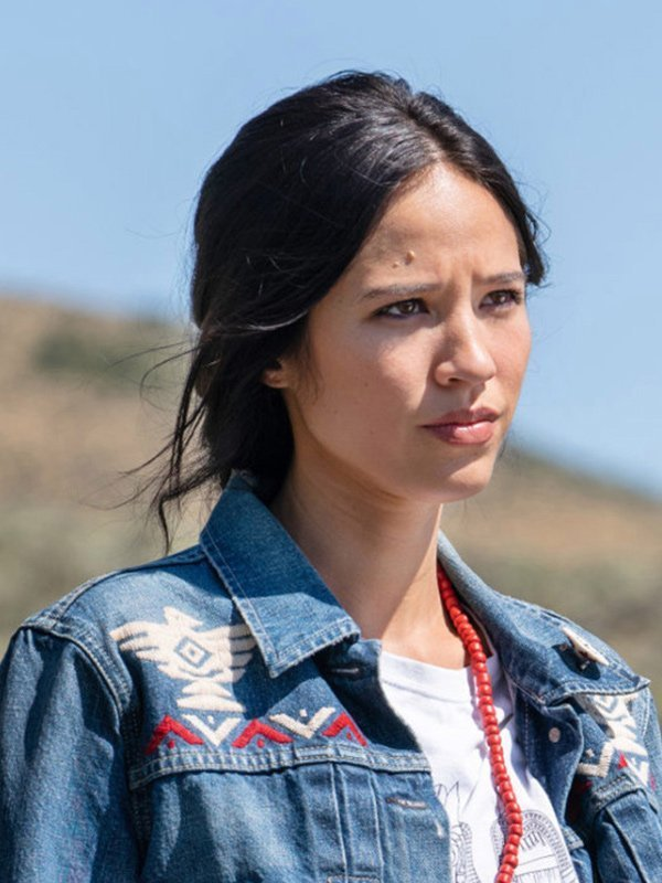 Yellow stone Kelsey Asbille Blue Jacket