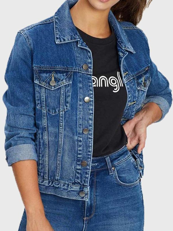 Yellowstone Monica Dutton Blue Jacket