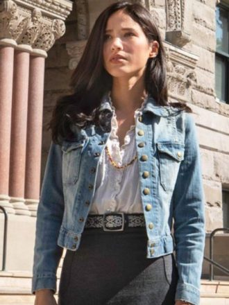 Yellowstone Monica Dutton Denim Blue Jacket