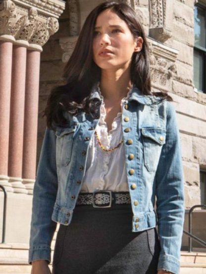 Yellowstone Monica Dutton Denim Blue Jacket