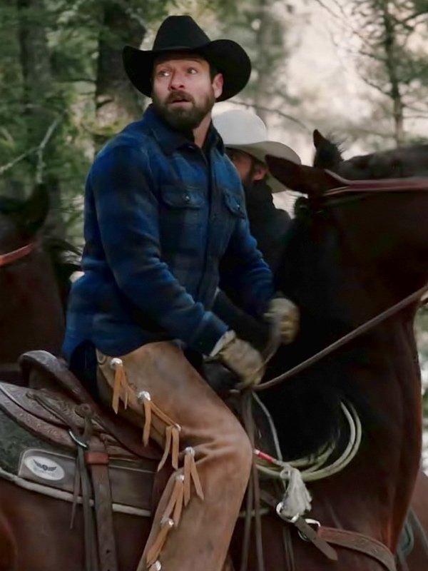 Yellowstone Ryan Blue Jacket