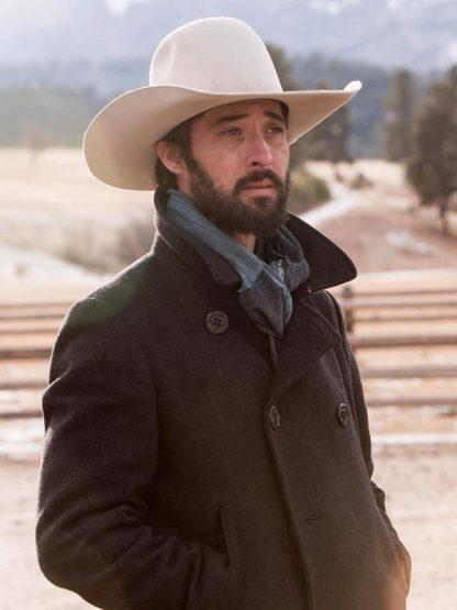 Yellowstone Walker Wool Peacoat