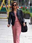 Zoe Hardman Black Leather Jacket