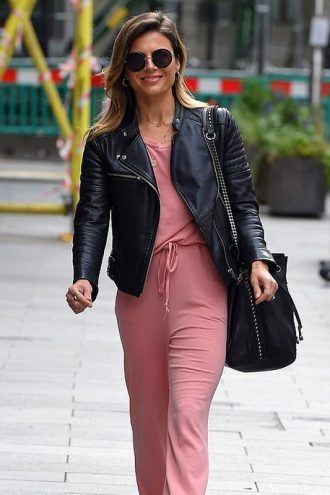 Zoe Hardman Black Leather Jacket