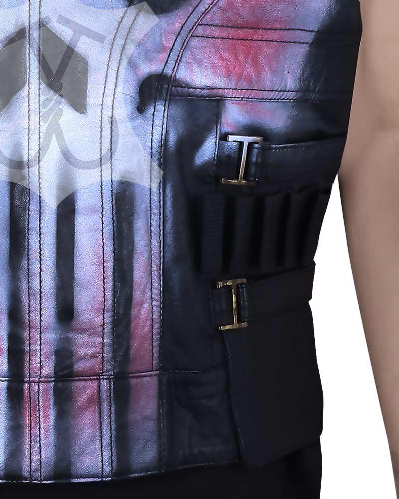 the punisher skull vest