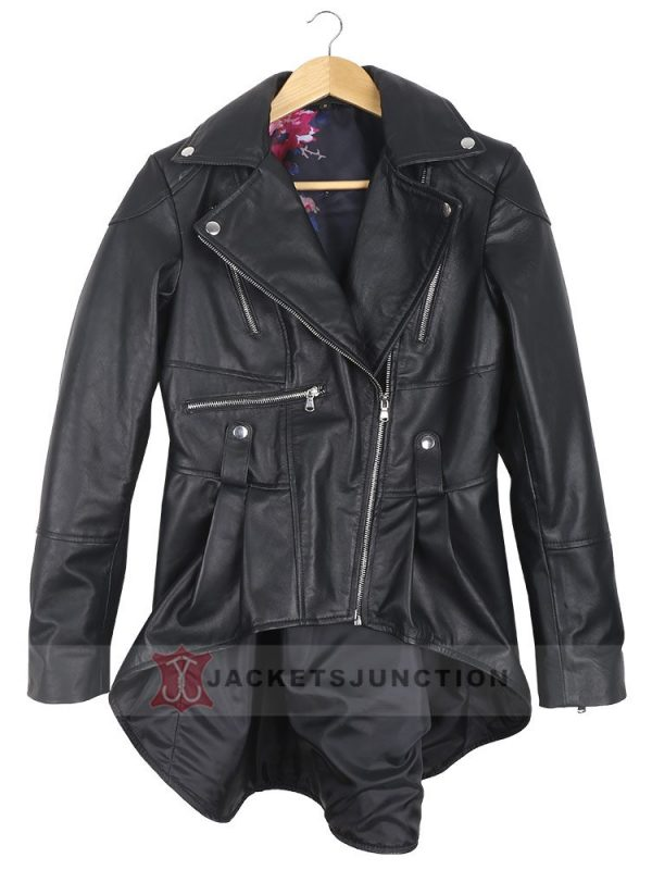 The Umbrella Academy Emmy Raver Lampman Leather Jacket