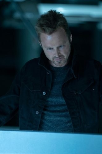 Aaron Paul Westworld S03 Black Jacket