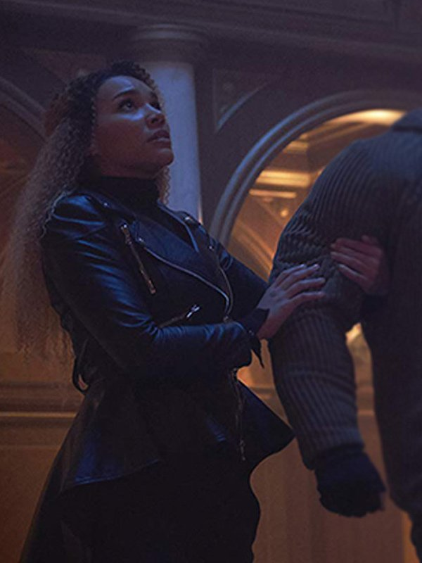 Allison Hargreeves The Umbrella Academy Black Leather Jacket