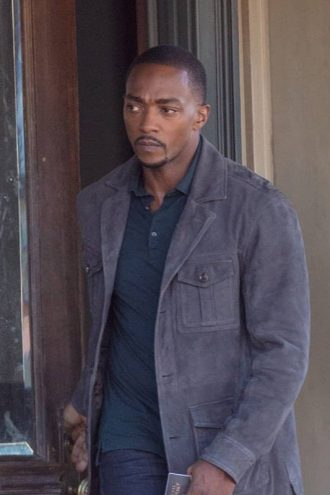 Anthony Mackie The Falcon And The Winter Soldier Cotton Jacket