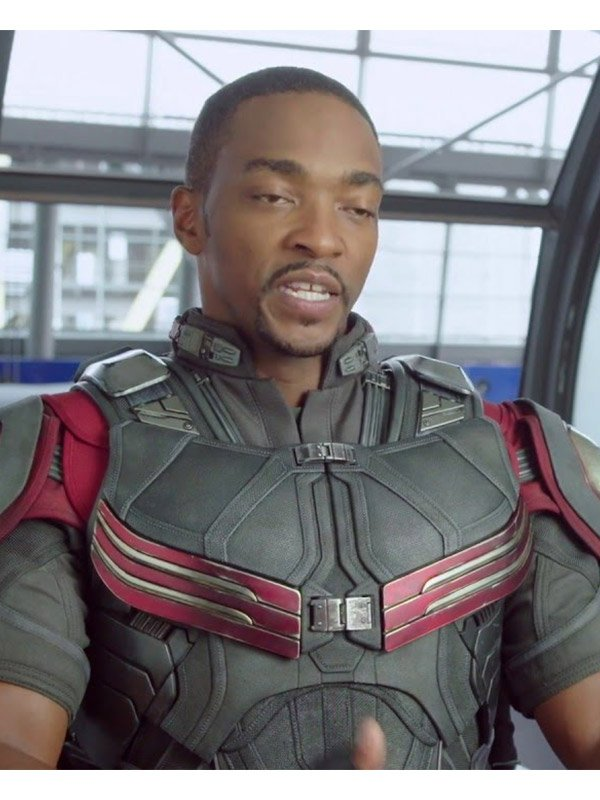 Anthony Mackie The Falcon And The Winter Soldier Vest