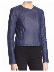 Arrow Emily Bett Rickards Blue Jacket