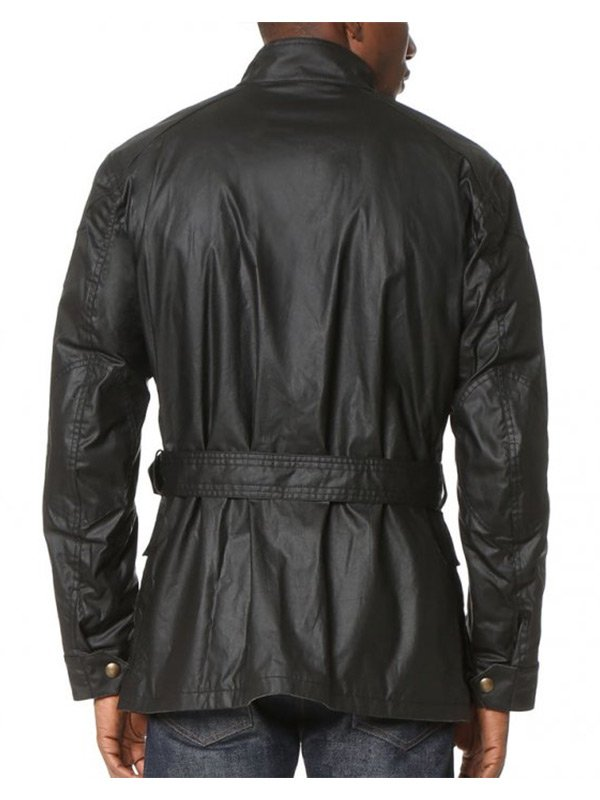 Arrow Oliver RoadMaster Four Button Pockets Leather Jacket