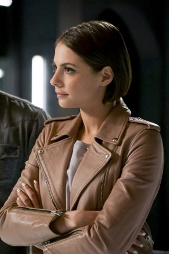 Arrow S06 Thea Queen Pink Leather Jacket