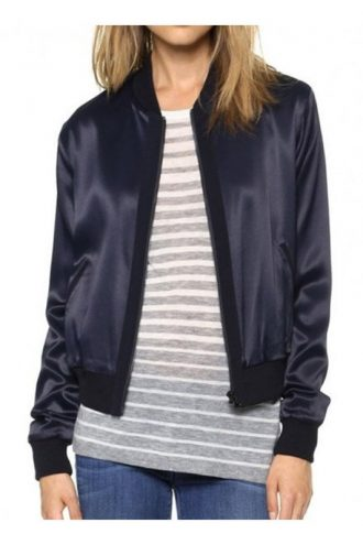Arrow SO3 Willa Holland Blue Satin Jacket