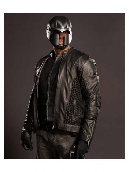 Arrow Season 4 John Diggle Leather Jacket