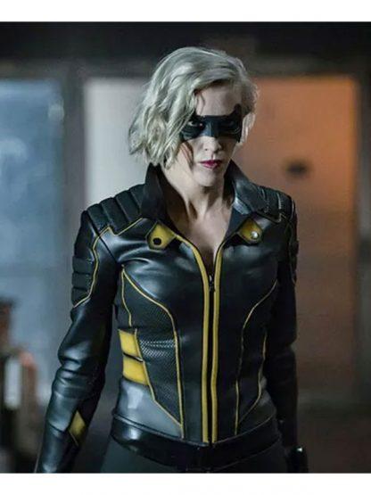 Arrow Season 8 Laurel Lance Leather Jacket