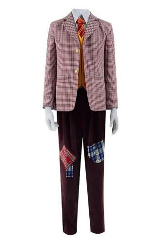 Arthur Fleck Joker Wool Checkered Blazer