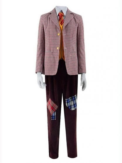 Arthur Fleck Joker Wool Checkered Blazer