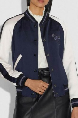 Betty Cooper Riverdale S04 Blue Varsity Jacket
