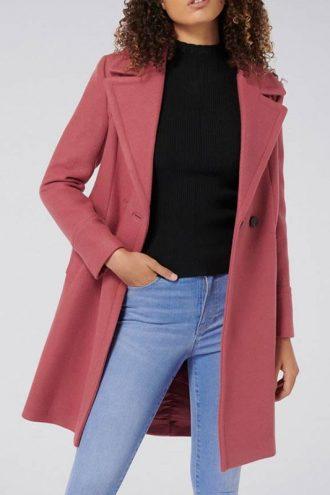 Betty Cooper Riverdale S04 Pink Wool Coat