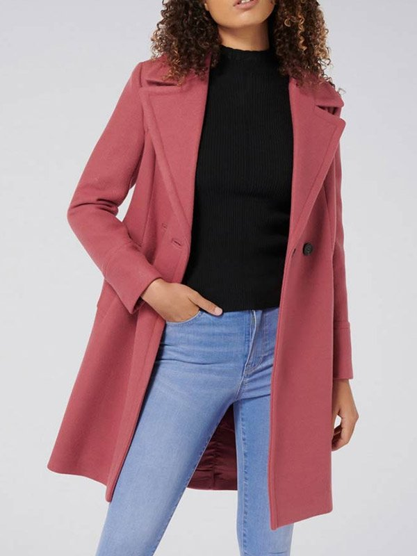 Betty Cooper Riverdale S04 Pink Wool Coat