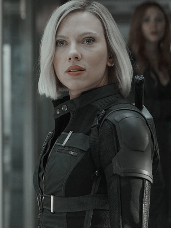 Black Widow Avengers Infinity War Green & Black Vest